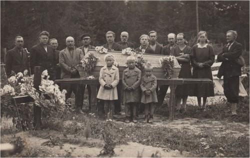 Pruusi või Limberveki matus Õie Tomingas mälestuste järele