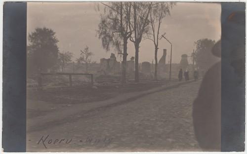 Suur tuleõnnetus Koerus 1924
