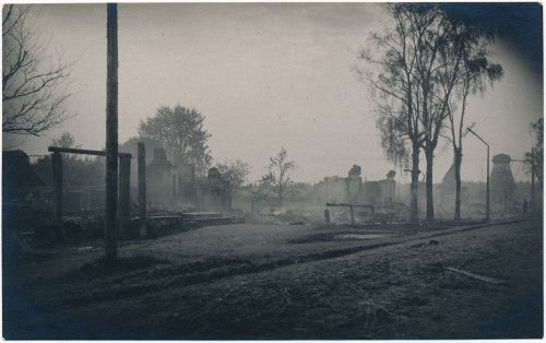 Suur tuleõnnetus Koerus 1924, pildistanud Martin Öömann