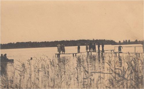 Väinjärve rand 30-ndatel