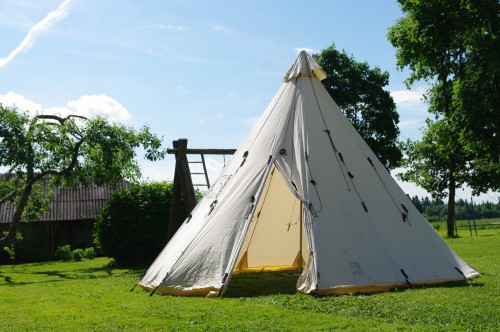 NORDISK Cotton teepee tent SIOUX 400 - 8 person ø400x275cm