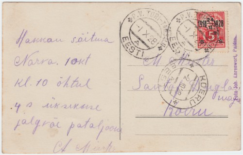 Kiri Käpale 1.X.1928
