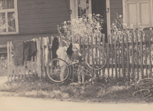 Nippi Kõrsi elumaja 70ndatel