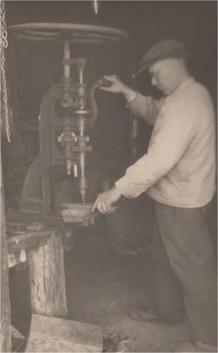 Sepp Gustas tööl