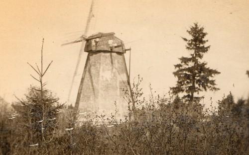 Vahuküla tuulik Pihumäel 1938