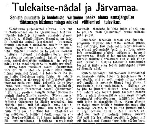 Järva Teataja (Paide : 1926-1944) nr.102 | 6. september 1939 | lk 9