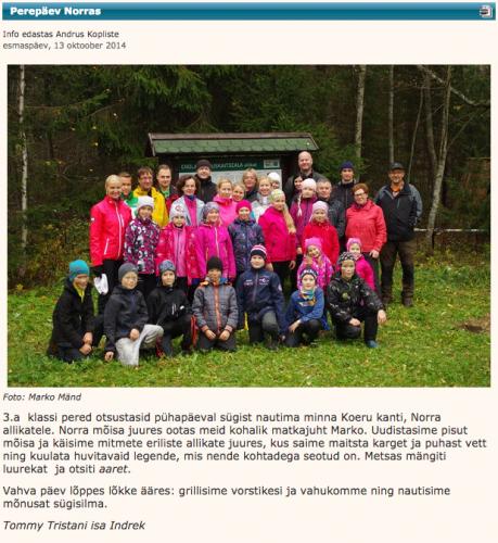 PÜG - Perepäev Norras @Paide Ühisgümnaasium