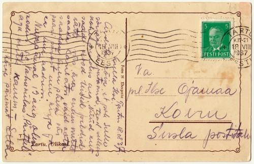 Susla postitalu Vahukülas - Marianne Vallaste