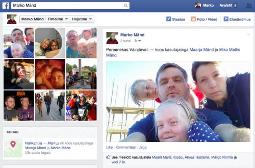 Marko Mänd @Facebook