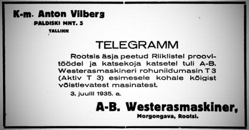 Maa Hääl nr 37 5.07.1935