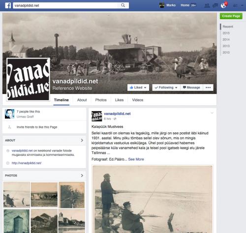vanadpildid.net Facebook leht